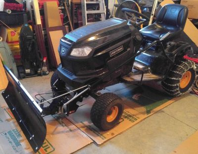 Craftsman Pro Series Lawn Tractor with Kohler 20 HP engine