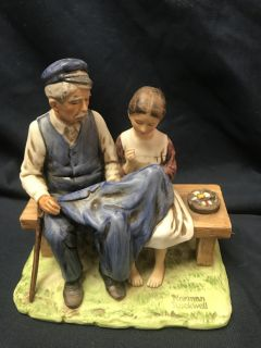1979 Norman Rockwell Figurine - The Lighthouse Keeper's Daughter