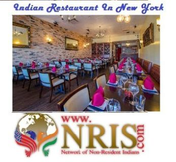 Indian Restaurant In New York