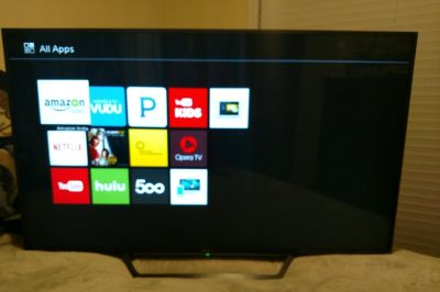 Sony 55-Inch TV with Built-in Wi-Fi