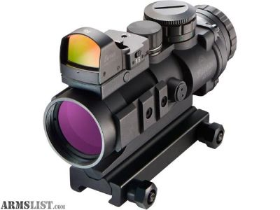 For Sale: Burris AR Prism Sight Ballistic CQ Reticle with Free FastFire III Reflex Red Dot Sight AR-332, 3x36mm, 3 MOA with Picatinny Mount, Matte Black 300177