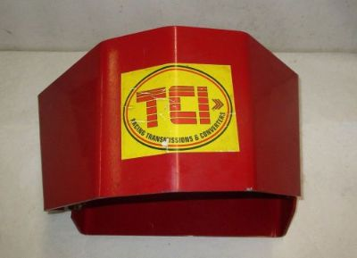 Purchase TCI Auto Transmission Shield Case Aluminum Red Mopar GTX Cuda 727 J10016 motorcycle in Keller, Texas, United States, for US $150.00