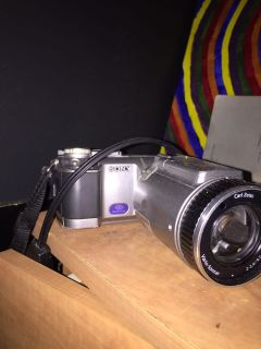 Sony camera with 2 memory cards