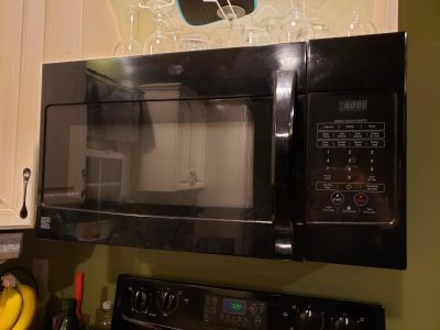 Kenmore multi feature over the stove microwave