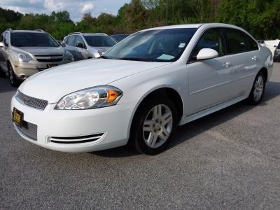 2012 Chevrolet Impala LT Fleet (White)