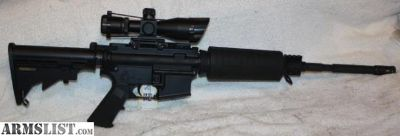 "For Sale: Stag Model 3L Rifle (5.56/.223) Left Hand AR-15 Rifle, 16"" Chrome Lined Barrel, 2.5-10X Dual Illuminated Tactical Scope With Red Laser, 30 Round Magazine"