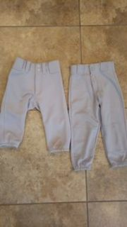 Gray youth small baseball pants