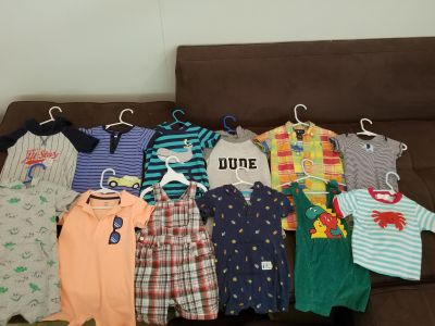 18 months. Outfits.