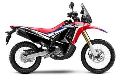 2017 Honda CRF250L Rally Dual Purpose Motorcycles Fairfield, IL