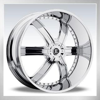 "Buy 26"" 2 Crave Chrome wheels Rims Tires Suv Donk Car Truck motorcycle in Ontario, California, US, for US $1,699.00"