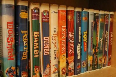 Disney vcr movies (Midland)