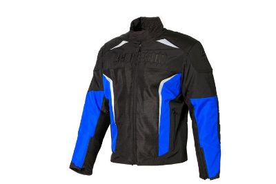 Purchase Scorpion Hat Trick II 2 Blue Small Textile Motorcycle Jacket Sml Sm S motorcycle in Ashton, Illinois, US, for US $269.95