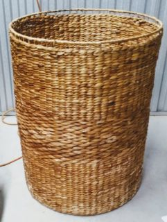 Large Wicker Barrel