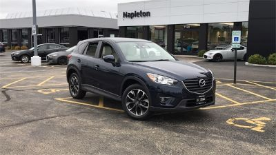 2016 Mazda CX-5 Grand Touring (Deep Crystal Blue Mica)