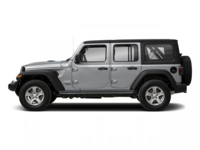 2018 Jeep Wrangler Unlimited Rubicon (Billet Silver Metallic Clearcoat)