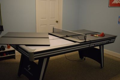 Ping Pong/Air Hockey Table