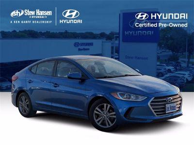 2018 Hyundai Elantra SEL (Electric Blue)