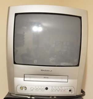 """Magnavox 14"""" TV with VHS Player"""