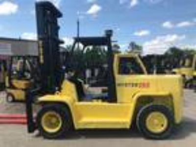 1997 Diesel Hyster H155XL Pneumatic Tire 4 Wheel Sit Down