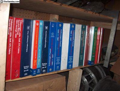 VW Repair Books