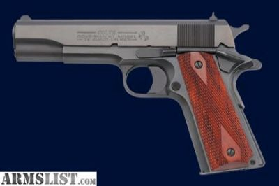 Want To Buy: Colt 1991 45 ACP Blue Finish
