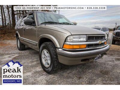 2001 Chevrolet Blazer LS (Champange)