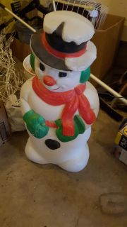 Light up snowman 30inches tall