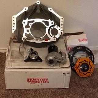 Quartermaster clutch package