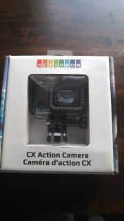 CX Waterproof Action Camera (NEW IN BOX)