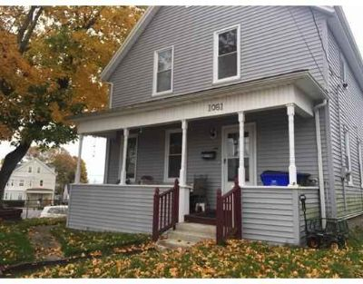 1061 Stafford Rd Fall River Three BR, Vinyl sided house with many