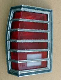Buy 77 78 79 PONTIAC SAFARI STATION WAGON SW TAIL LIGHT LH motorcycle in Yorktown, Virginia, US, for US $50.00