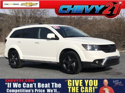 2018 Dodge Journey Crossroad (Vice White)