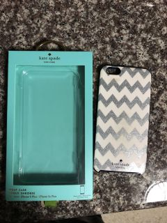 Kate Spade IPhone case. Fits 6plus, 7plus and 8 plus phone. Normal wear. Very good used condition.