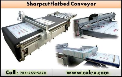 Best Cutter up to 2018 Colex SharpCut Conveyor | Elmwood Park, NJ 7407 |www.colex.com