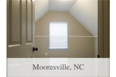 House for rent in Mooresville. Washer/Dryer Hookups!
