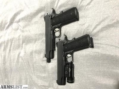 For Sale/Trade: Two Sig TacOps 1911