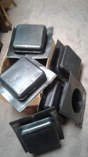 Set of 5 roof vents