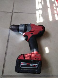 Used Milwaukee M18 fuel brushless drill driver