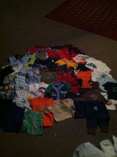 LOT OF 6-9 MONTH BOY CLOTHES