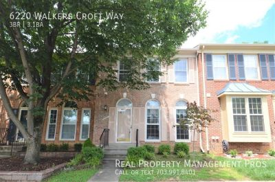 Charming Kingstowne Townhouse!