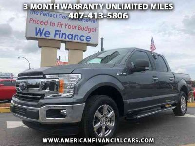 Used 2019 Ford F150 SuperCrew Cab for sale