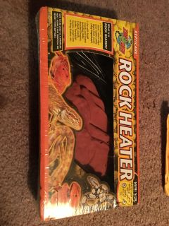 Rock heater for reptiles. New.