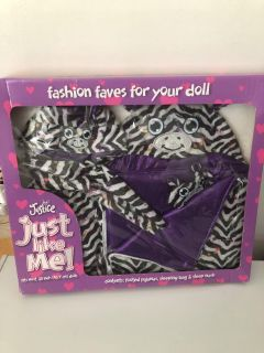 Justice Doll clothing new