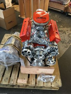 383 EFI STROKER CRATE MOTOR 525 700R4 TRANS SBC WITH A/C ROL