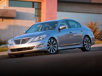 2012 Hyundai Genesis 5.0L R-Spec (Platinum Metallic)