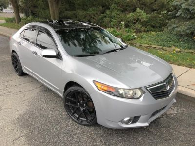 2012 Acura TSX Base (Forged Silver Metallic)