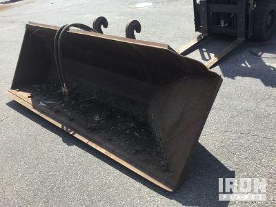 """Cat/Balderson 108"""" Side Dump Wheel Loader Bucket - Fits Cat IT24"""