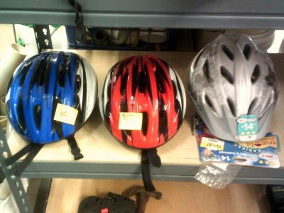 Bicycle Helments (new & used)