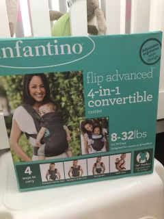 Infantino 4-in-1 convertible carrier EUC