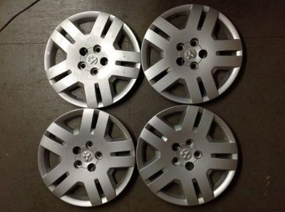 "Find Set 4 17"" Factory OEM Dodge Avenger Hubcaps Silver Hub Caps 5 Lug 5105668AB 8038 motorcycle in Holt, Michigan, US, for US $30.00"